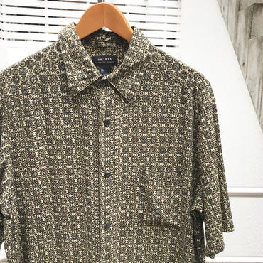 UNKNOWN/ブランド不明 総柄デザイン レーヨン シャツ 2000年代 (USED)