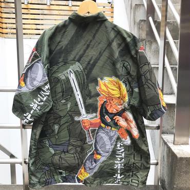 DRAGONBALL/ドラゴンボール トランクス柄半袖シャツ 2000年代 (USED)