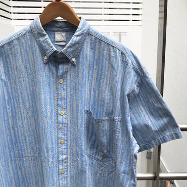 Ocean Pacific/オーシャンパシフィック コットン柄シャツ 90年前後 Made In USA (USED)