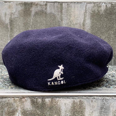 KANGOL/カンゴール ウール504ハンチング Made In ENGLAND (USED)