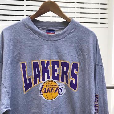 Champion NBA LAKERS/チャンピオン レイカーズ ロンT00年代 (DEADSTOCK)