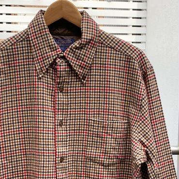 PENDLETON/ペンデルトン ウールチェック柄シャツ 80年代 Made In USA (USED)