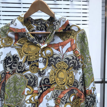 WARDEN/ワーデンレーヨンオープンシャツ 90年代 Made In FRANCE (DEADSTOCK)