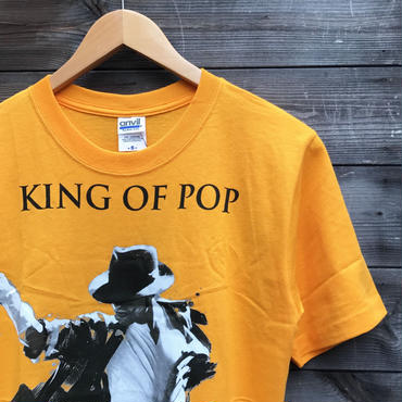 MICHEAL JACKSON/マイケルジャクソン KING OF POP Tシャツ ©2010(DEADSTOCK)