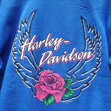 Harley Davidson /ハーレーダビッドソン プリントスウェット 90年代 Made In USA  (USED)