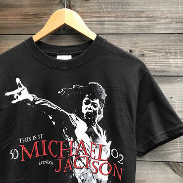 MICHEAL JACKSON/マイケルジャクソン THIS IS IT Tシャツ 2000年代(DEADSTOCK)