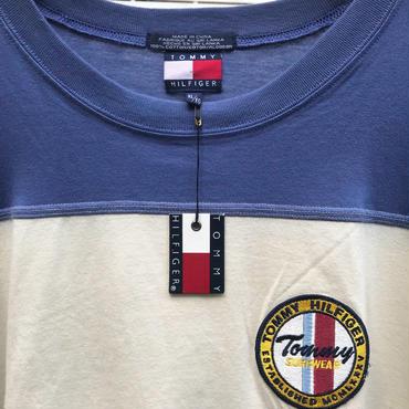 TOMMY HILFIGER/トミーヒルフィガー 切り替えTシャツ 90年代 (DEADSTOCK)