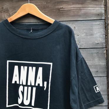 ANNA SUI/アナスイ ロゴTシャツ 90年代 (USED)