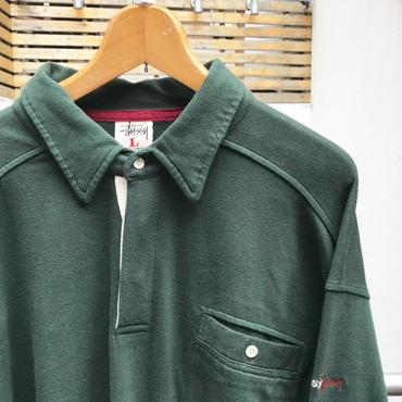 STUSSY/ステューシー ラガーシャツ 90年代 (DEADSTOCK)