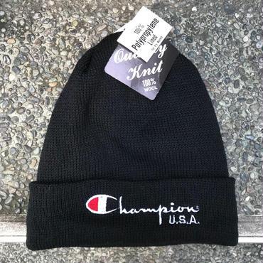 Champion/チャンピオン ロゴニットキャップ 90年代 Made In USA (DEADSTOCK)