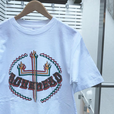 BONE HEAD/ボーンヘッド プリントTシャツ 90年代 MadeIn USA (DEADSTOCK)