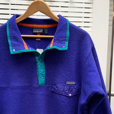 PATAGONIA/パタゴニア SNAP-Tフリースジャケット 91年? Made In USA (USED)