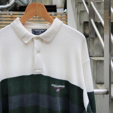 POLOSPORT/ポロスポーツ ロングスリーブポロシャツ 90年代 (USED)