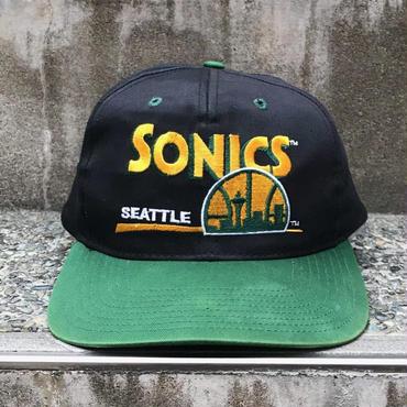 SEATTLE SUPERSONICS/シアトルスーパーソニックス キャップ 90年代 (USED)