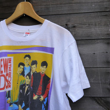 NEW KIDS ON THE BLOCK/ニューキッズオンザブロック ツアーTシャツ 1990年 Made In USA(USED)