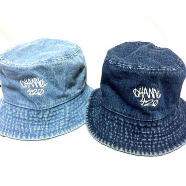 CHANNEL420 Bucket Hat ・Dark Indigo & Light Indigo    ¥3700(税抜)chbh002