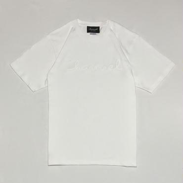 Logo Tee・White/White   ¥4200(税抜)