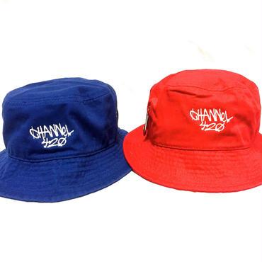 CHANNEL420 Bucket Hat ・Red &Blue    ¥3700(税抜)chbh002