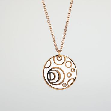 DAMIANI ダミアーニ DAMIANISSIMA K18ピンクゴールド & セラミック & ダイアモンドペンダント