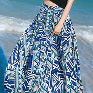 海外インポートブラックTシャツトップスプッチ柄ロングスカートセットアップマキシワンピースドレス
