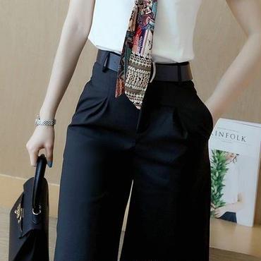 海外インポートホワイトTシャツスカーフ付きハーフパンツセットアップオールインワンコンビネゾン