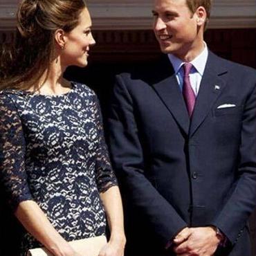 海外インポートセレクトネイビーフラワーレースデザインキャサリン妃ワンピースドレス紺色