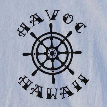 HAVOC HAWAII CLOTHINIG   アンカー Tshirts  White/Black