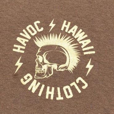 HAVOC HAWAII CLOTHING  Rock T-shirts ベージュ/カーキ