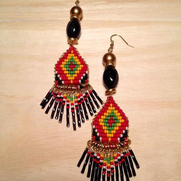 bohemian beads pierce
