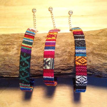ethnic textile anklet▲▼3color▼▲