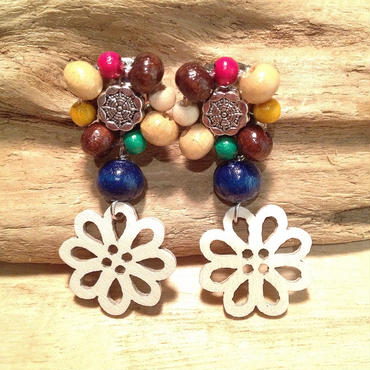 wood flower▲▼4color▼▲