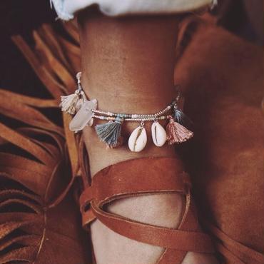 tassel anklet
