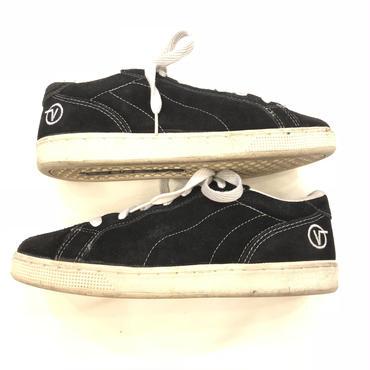 1990's~ VANS バンズ KOREA製 ETHEL ブラックスウェード スニーカー / 古着 ビンテージ スケートシューズ
