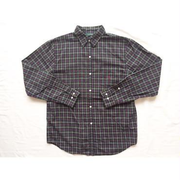 LAUREN RALPH LAUREN ラルフローレン ワンポイント刺繍 チェックシャツ/古着  ビンテージ