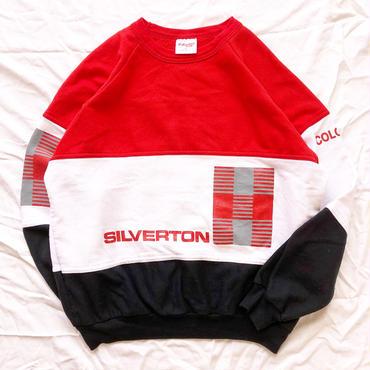 1990's~ USA製 3トーンカラー スウェット / 古着 ビンテージ