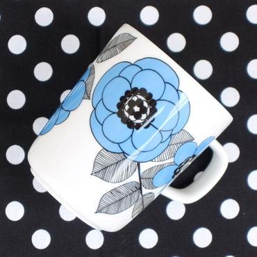 マリメッコ marimekko <Kestit>マグカップ(水色)フィンランド「Stockmann」限定