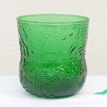 オイヴァ・トイッカ Oiva Toikka ファウナ グラス(S) グリーン