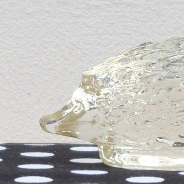 ガラスのハリネズミ(S)