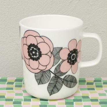マリメッコ marimekko <Kestit>マグカップ(ピンク)日本限定カラー