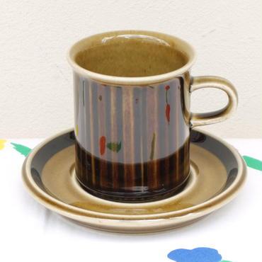 ARABIA アラビア コスモス(グリーン)コーヒーカップ&ソーサー