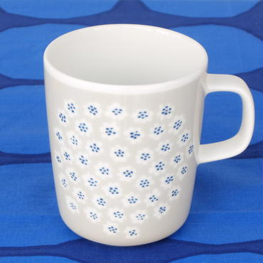 マリメッコ marimekko <Puketti>マグカップ(ライトグレー)日本限定&販売店限定