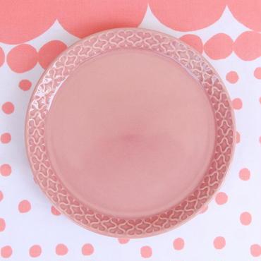 ビング・オー・グレンダール Bing&Grondahl コーディアル・パレット プレート(S)(ピンク)
