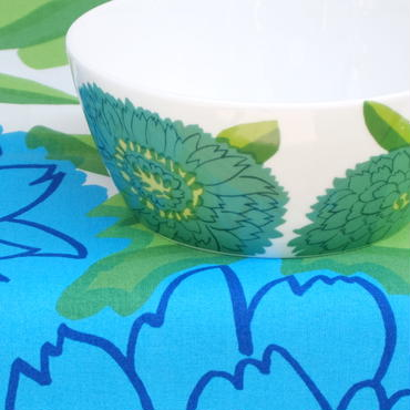 イッタラ Iittala × マリメッコ marimekko <Primavera>ボウル(グリーン)デッドストック