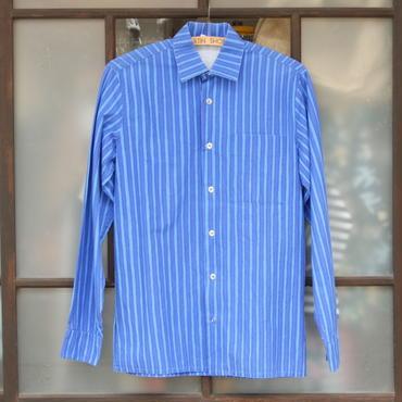 マリメッコ marimekko  ヴィンテージ ヨカポイカシャツ(ブルー)