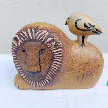 リサ・ラーソン LION WITH BIRD 現行品