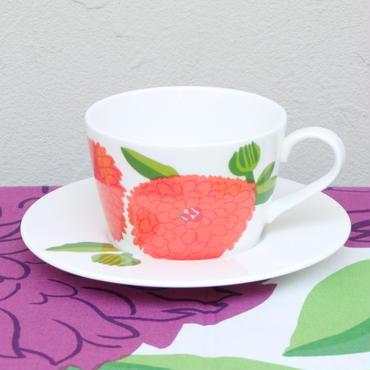 イッタラ Iittala × マリメッコ marimekko <Primavera>カップ&ソーサー(ストロベリーレッド)