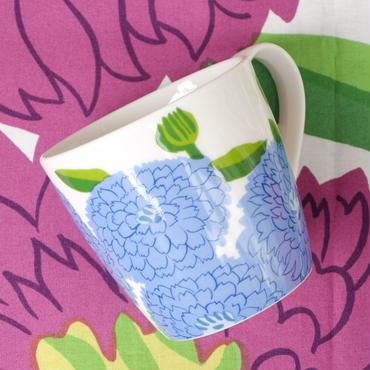 イッタラ Iittala × マリメッコ marimekko <Primavera>マグカップ(フィニッシュブルー)未使用品