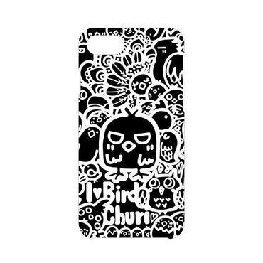 iPhoneケース(黒×白)