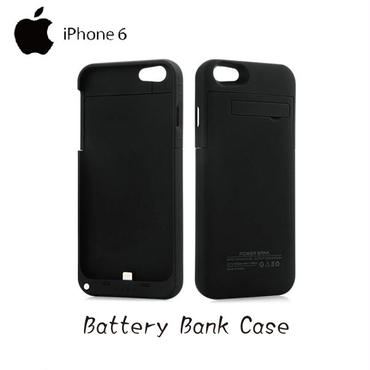 iPhone 6 4.7インチ専用 バッテリー内蔵ケース ブラック