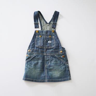 オーバーオール スカート デニム (Lee) 100~160cm